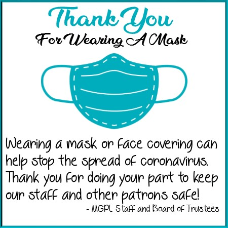 thank you for wearing a mask
